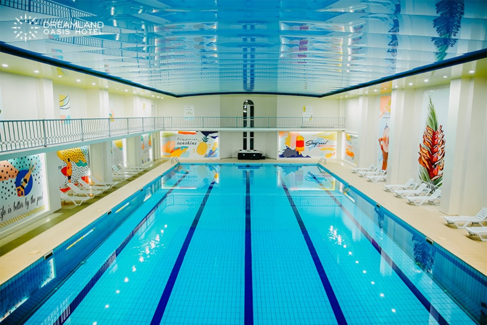 Outdoor and Indoor Swimming Pools
